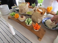 crudite-and-pate-starter-table